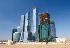 Free Skyscrapers Business Centre Royalty Free Stock Photos - 9240208