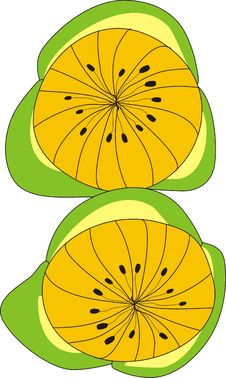 Free Yellow Fruits Stock Images - 9240314