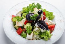 Free Greek Salad Stock Photos - 9240703