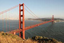 Free Golden Gate Bridge Royalty Free Stock Image - 9241196