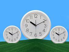 Free Clock Royalty Free Stock Image - 9241446