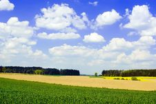 Free Countryside View Stock Image - 9243211