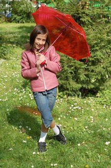 Free My Umbrella Royalty Free Stock Photography - 9243257
