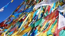 Free Prayer Flags Royalty Free Stock Image - 9243376