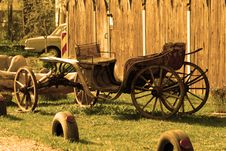 Free Carriage In Sepia Stock Images - 9243894