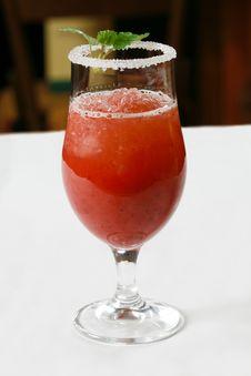 Free Strawberry Cocktail Stock Photos - 9244053