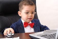 Free Young Manager Analyzing Market Crises Stock Images - 9244294