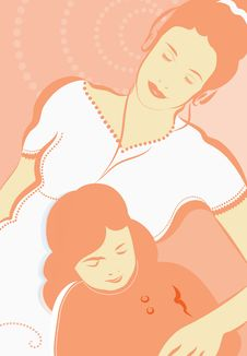 Free Mother And Daughter Stock Images - 9244654
