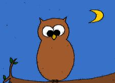 Free Owl Royalty Free Stock Images - 9245089