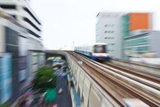 Sky Train Stock Photo
