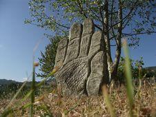 Free Hand Of Stone Stock Photos - 9247313