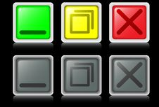 Free Operating Buttons Royalty Free Stock Images - 9247669