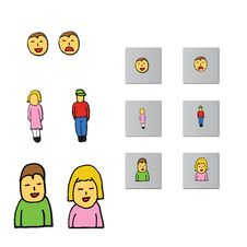 Free Social Gender Icons Stock Photos - 9247703