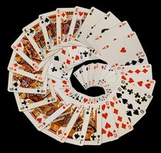 Free Playing Cards Royalty Free Stock Photos - 9247988