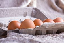 Free Eggs In Carton Stock Photography - 9248262