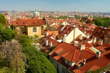 Free Prague Spring Panorama Stock Photo - 9249160
