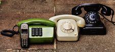 Free Black Rotary Phone Stock Photos - 92427993