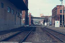 Free Railroad Tracks  Royalty Free Stock Photo - 92428255