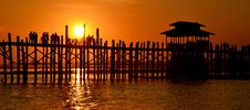 Free Pier At Sunset  Stock Image - 92428871