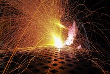 Free Welding Process Stock Photography - 92429022