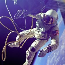 Free Edward H White Conducting First American Spacewalk Royalty Free Stock Photography - 92429217