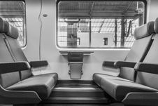 Free Seats In Train Royalty Free Stock Photography - 92429657
