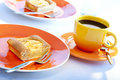 Free Apple Pie And Coffee Stock Images - 9251664