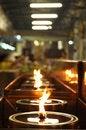 Free Circle Lamp Oil Row Hall Stock Photos - 9256703