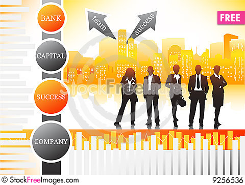 Free Business People Royalty Free Stock Image - 9256536