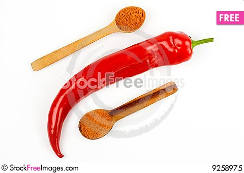 Free Red Hot Chili Pepper Royalty Free Stock Photo - 9258975