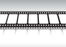 Free Film Strip Reflected Stock Photography - 9250092