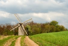Free Old Windmill Stock Image - 9250121