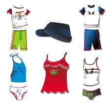 Free Stylish Clothes Design Stock Image - 9250381