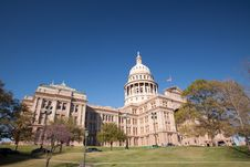 Free Texas State Capitol Building Royalty Free Stock Image - 9250516