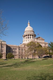 Free Texas State Capitol Building Stock Photo - 9250520