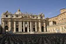 Free St Peter`s Basilica Rome Italy Stock Images - 9251174