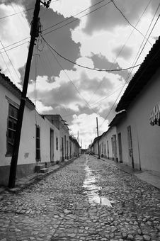 Free Trinidad Street, Cuba Stock Photo - 9253020