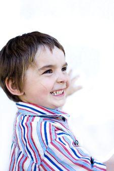 Free Happy Kiddo Royalty Free Stock Image - 9253576