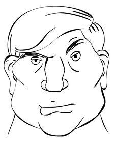 Free Cartoon Man Royalty Free Stock Photo - 9255085