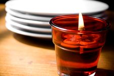 Free Candle Light Dinner Stock Photos - 9255603