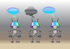 Free Funny Robots Stock Image - 9255771