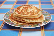 Free Stack Of Pancakes Stock Image - 9256041