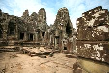 Free Bayon Temple Royalty Free Stock Images - 9256129
