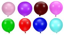 Free Colorful Party Balloons Royalty Free Stock Photography - 9256847