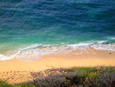 Free Diamond Head Beach, Oahu, Hawaii Royalty Free Stock Photos - 9257768