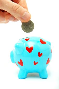 Free Piggy Bank Royalty Free Stock Photography - 9258067