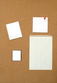 Free Cork Board Royalty Free Stock Image - 9258406