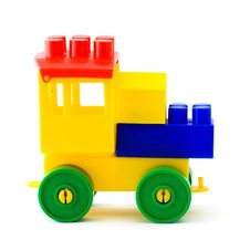 Free Plastic Toy Carriage Royalty Free Stock Photos - 9258458