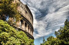 Free Colosseum - Foreshortening Royalty Free Stock Images - 9259089