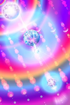 Bright Iridescent Background Royalty Free Stock Photography
